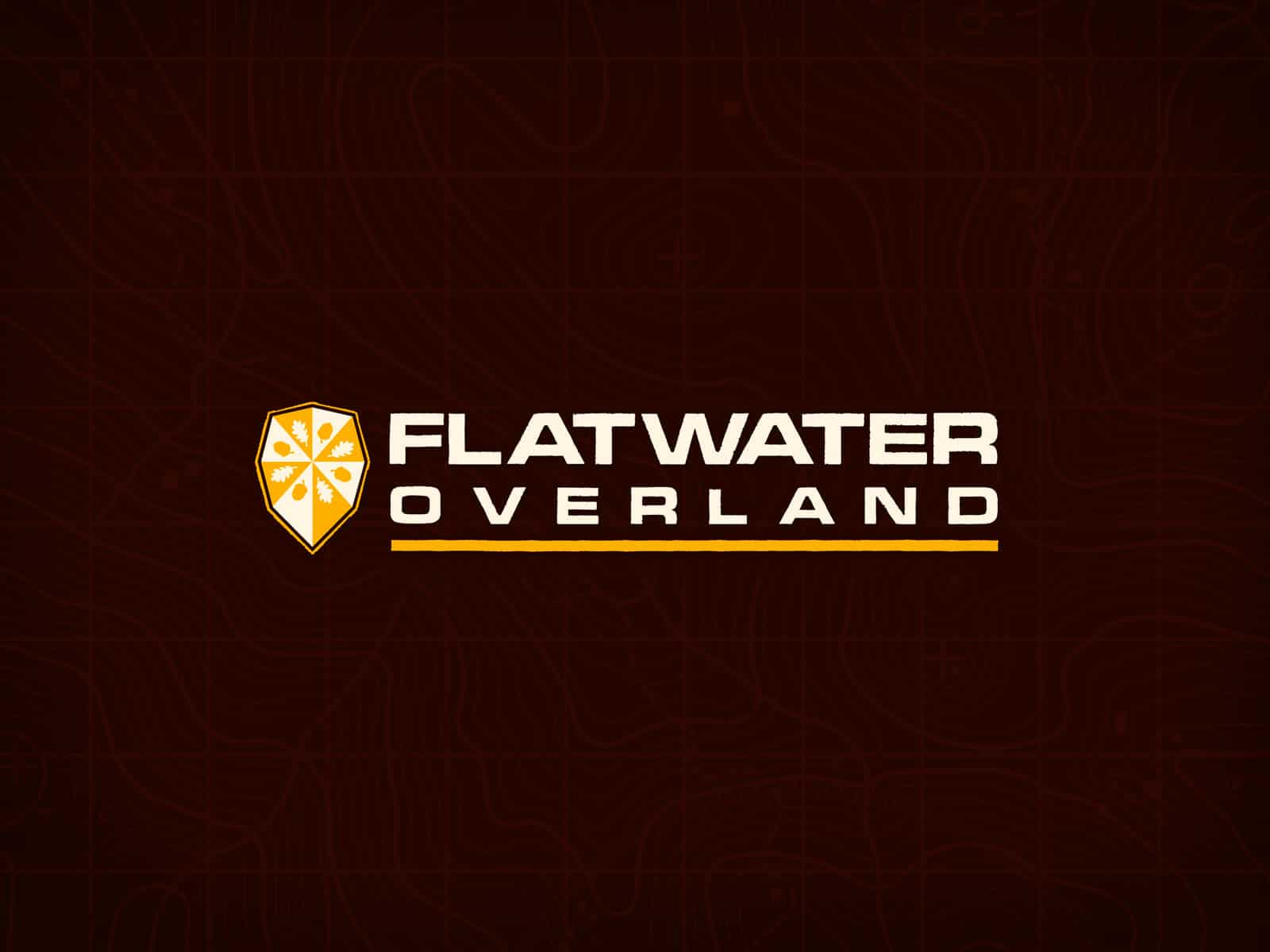 Flatwater Overland - Logo (Mørk)