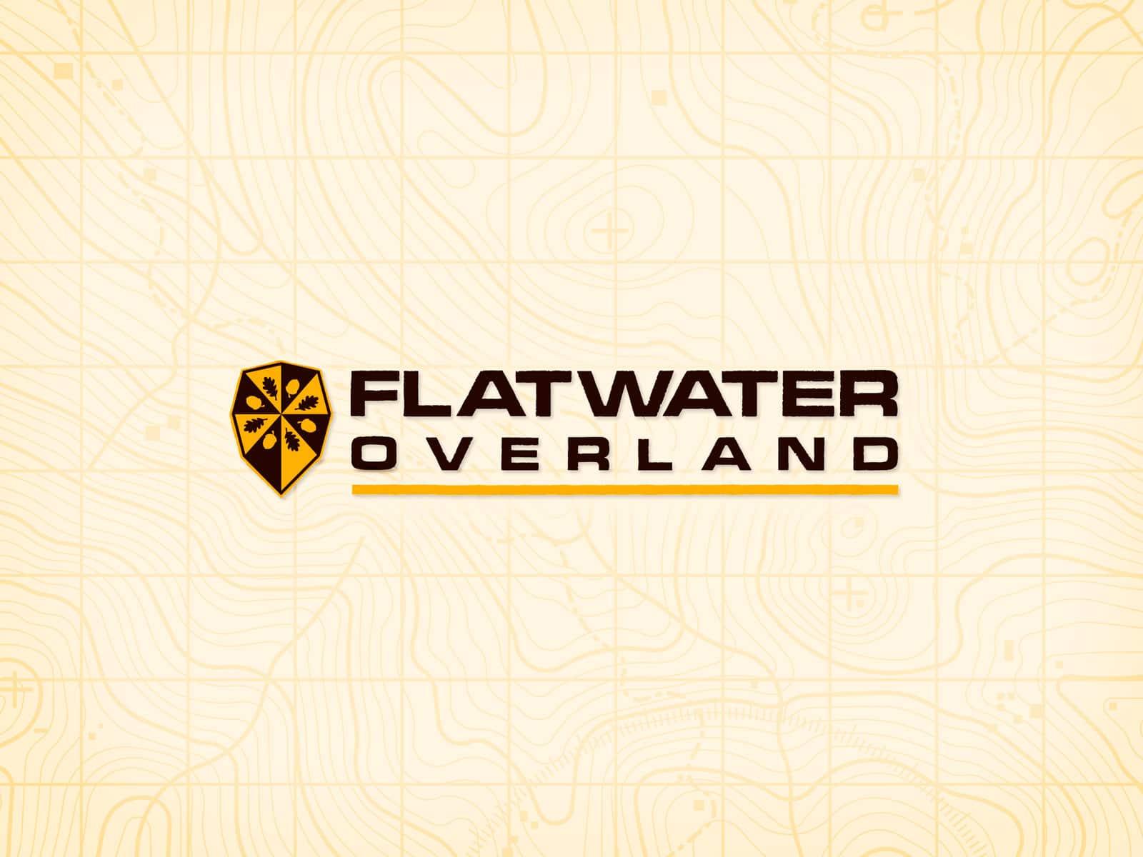 Flatwater Overland - Logo (Lys)